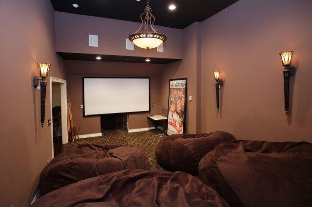 Stunning Small Media Room Design Ideas Gallery - Interior Design ...