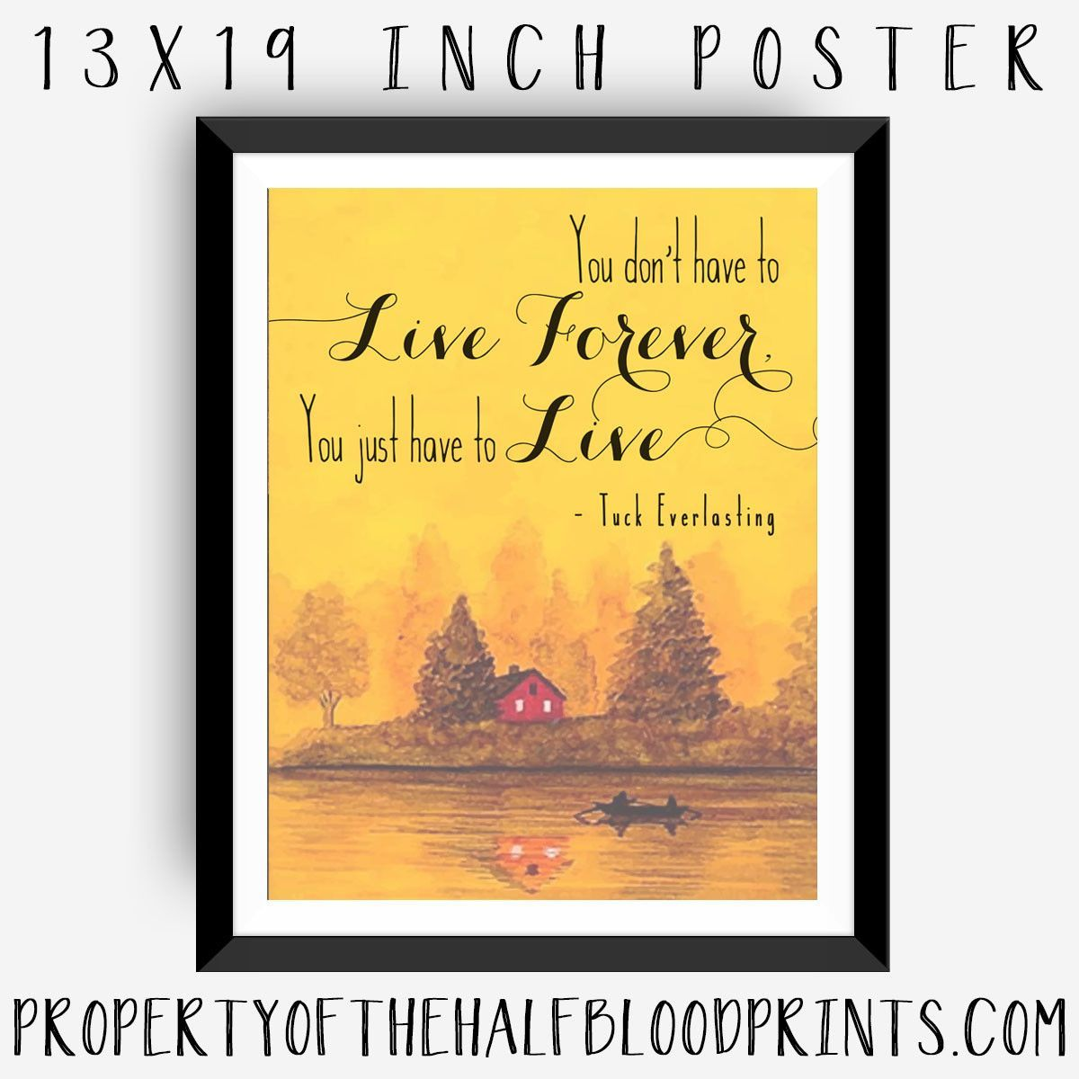 Quotes From Tuck Everlasting Book With Page Numbers: TUCK EVERLASTING : Poster