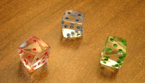 They're called 'Exotic Dice'