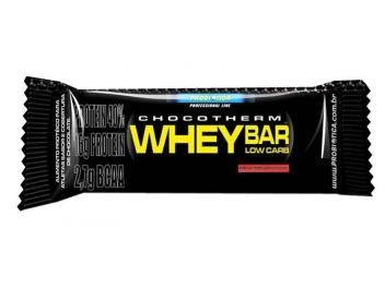 Barra De Proteina Whey Bar Low Carb 1 Unidade Probiotica Com