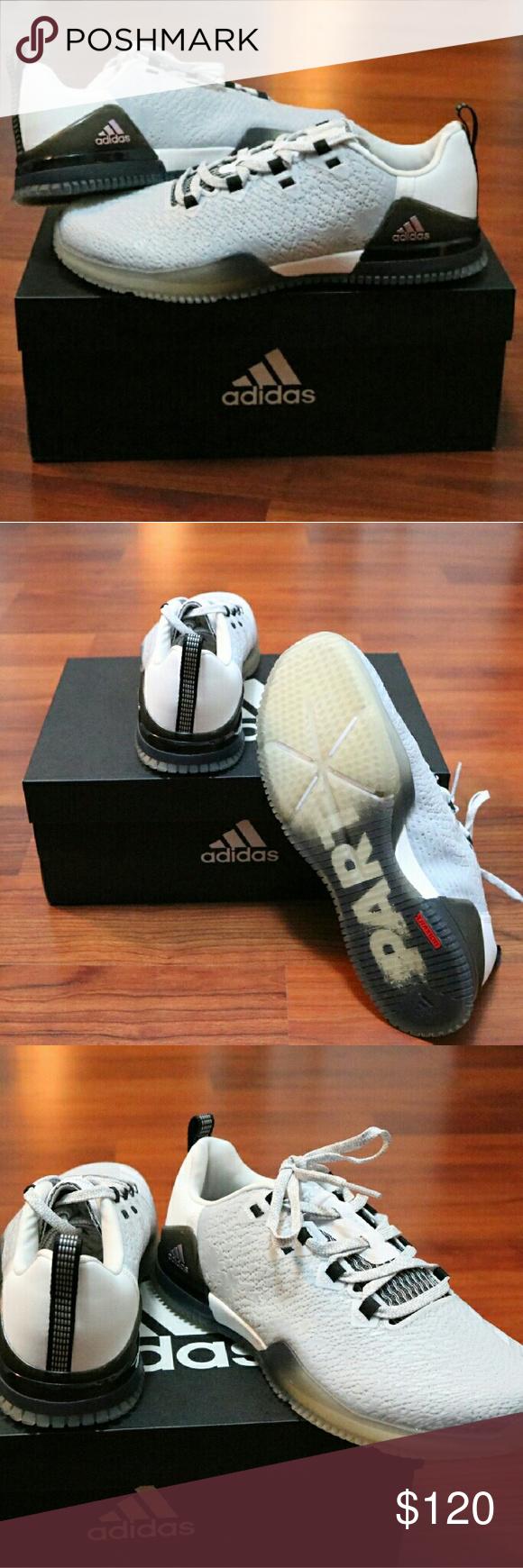 Finale!le scarpe adidas crazypower formazione nwt colore grigio