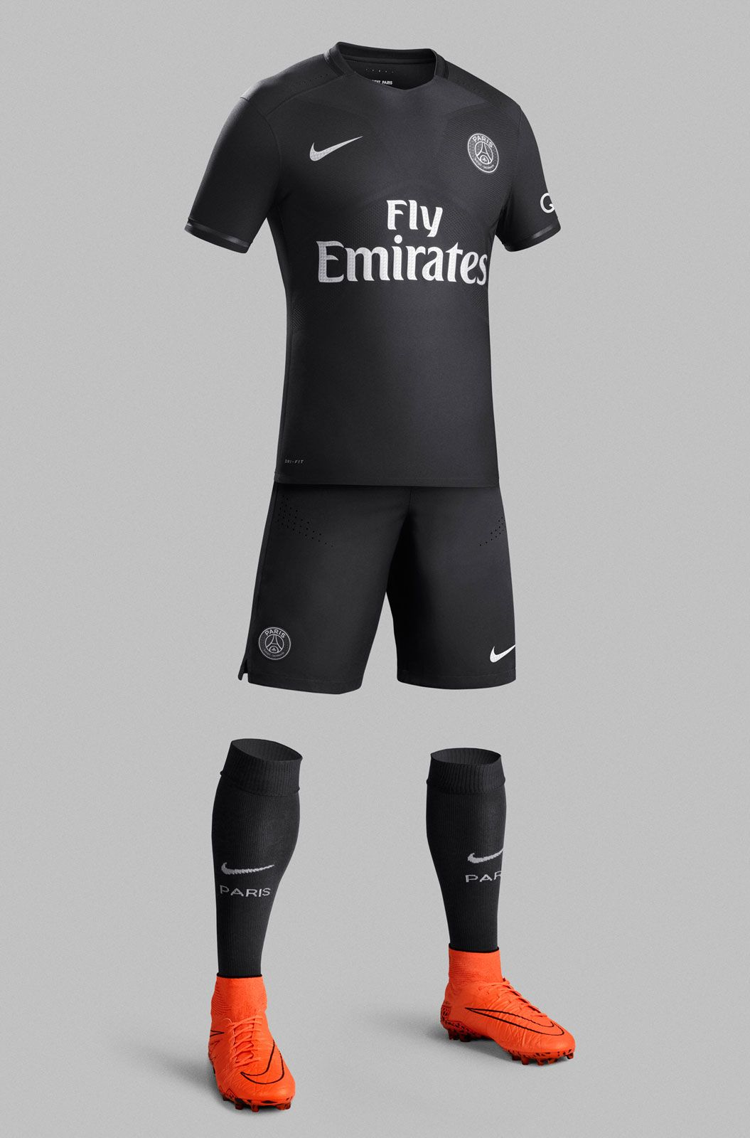 Psg black and pink jersey - Paris Saint Germain 15 16 Champions League Home Kit Released Footy Headlines