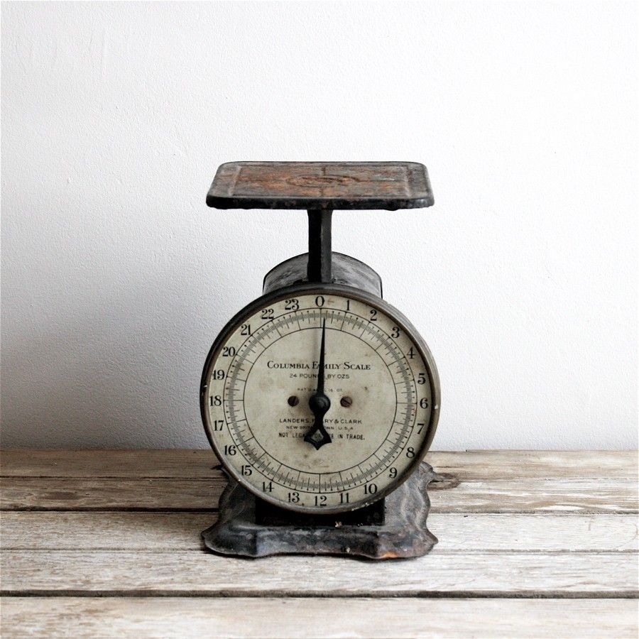 Antique Kitchen Scale