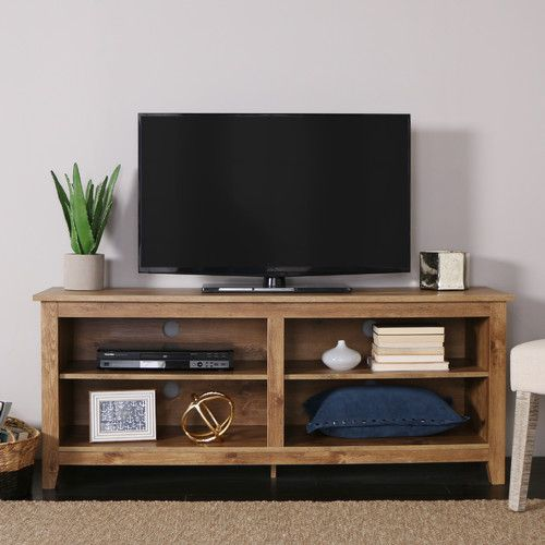 Sunbury Tv Stand For Tvs Up To 60 With Electric Fireplace Included Idee Deco Salon Decoration Meuble
