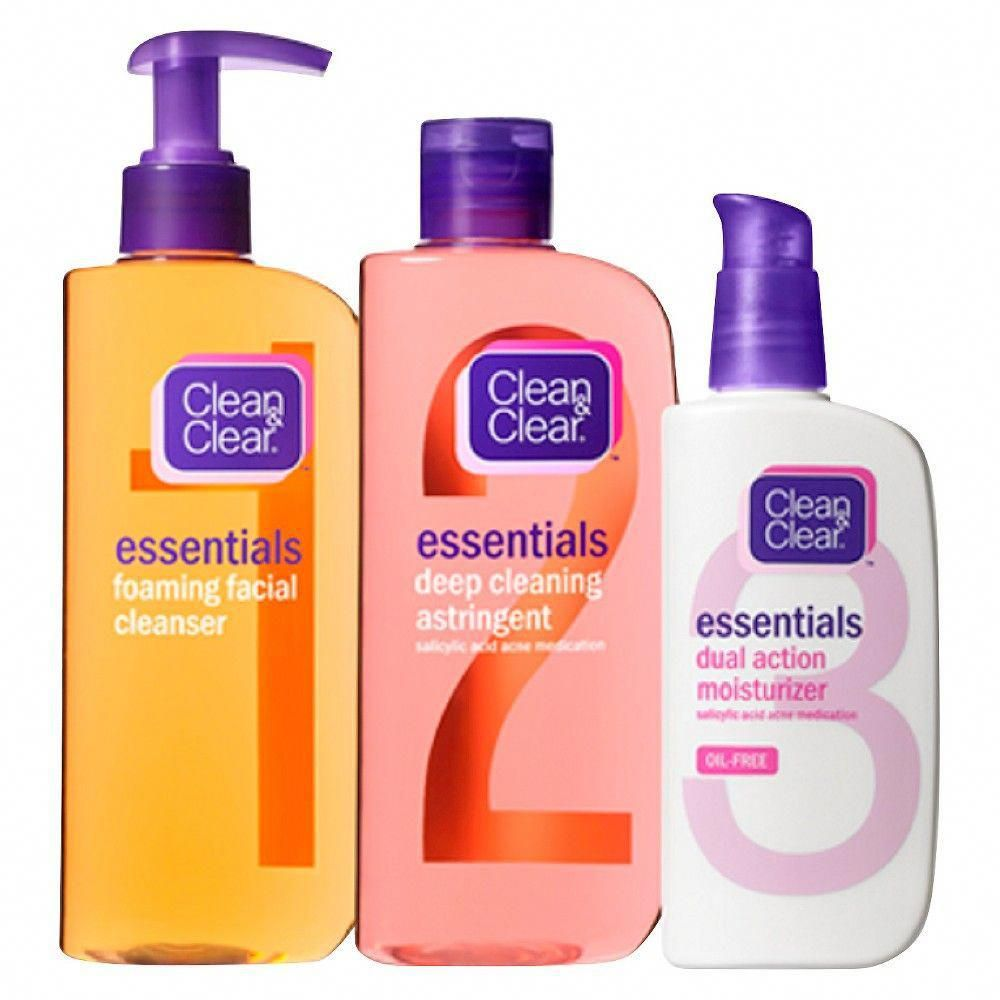 Clean clear essentials facial skin care set marykay