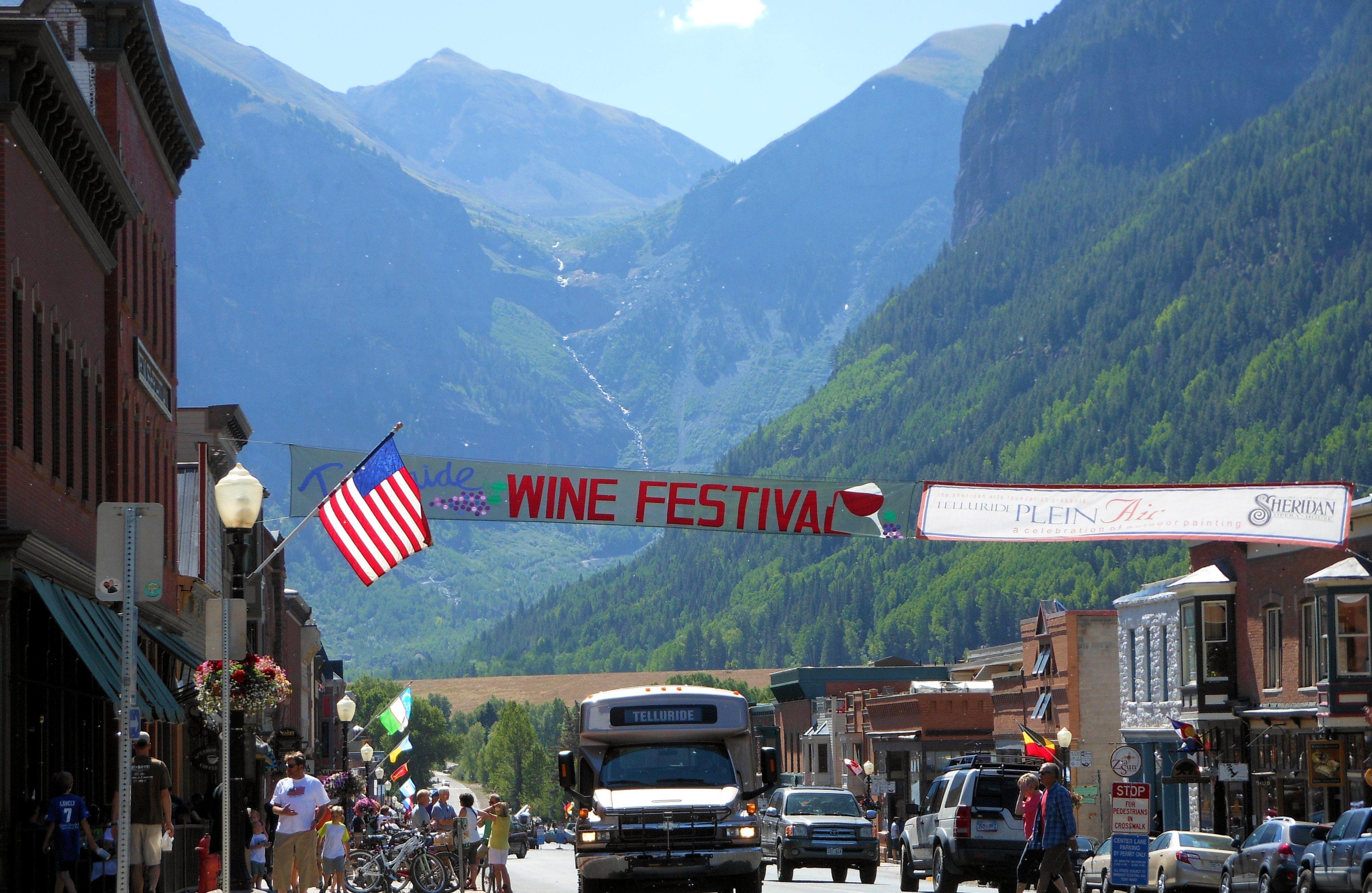 Telluride Wine Festival Telluride Wine Festival Favorite Places