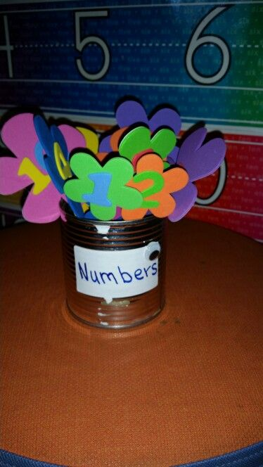 Numbers bouquet