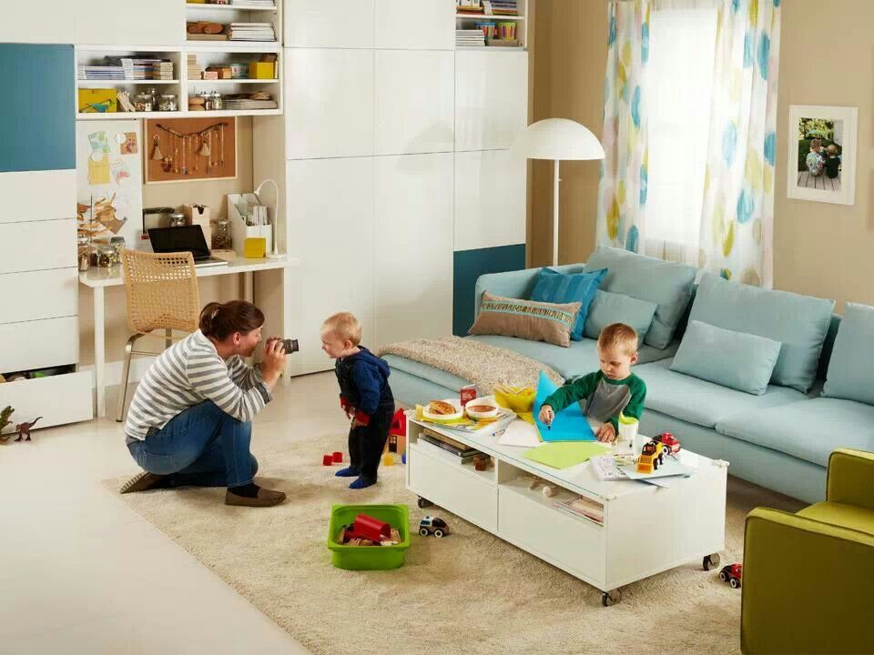 This Is All Ikea Family Room
