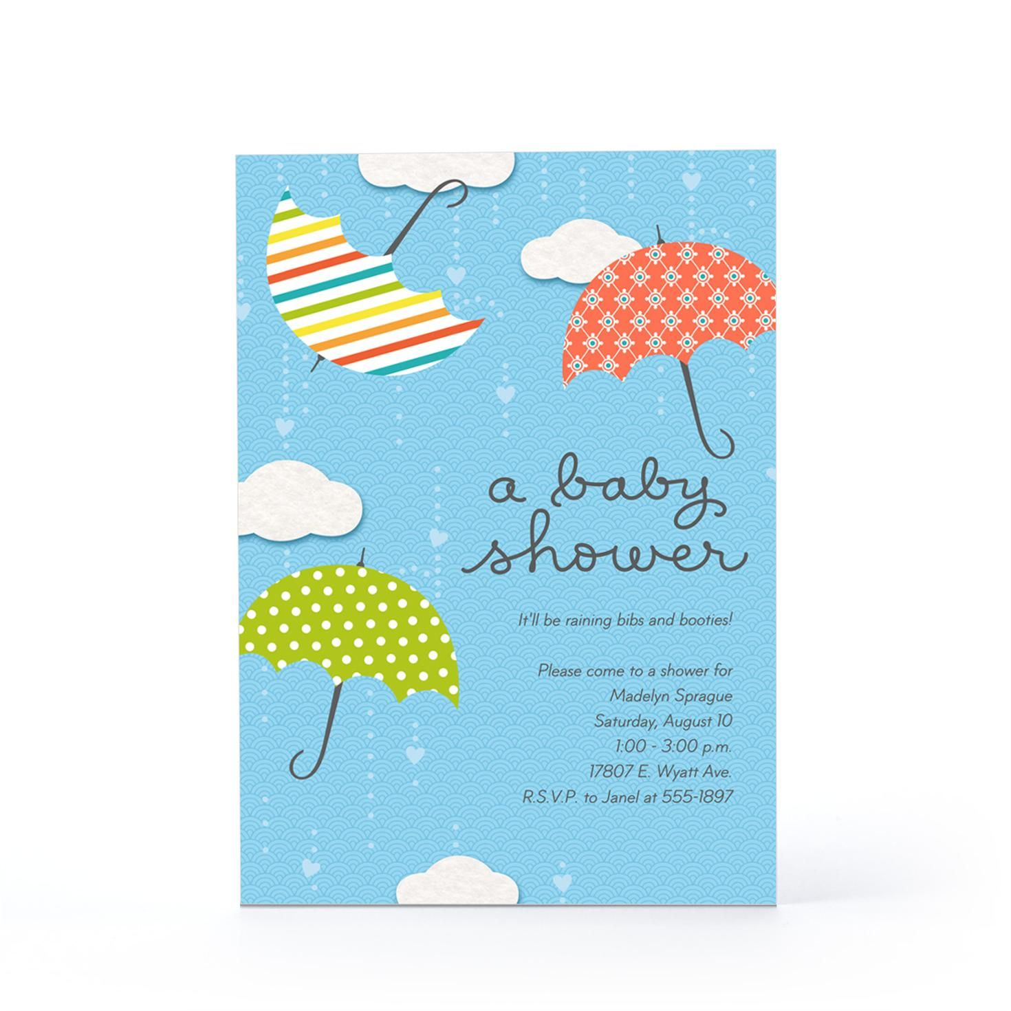 Baby shower umbrellas baby invitation hallmark baby shower baby shower umbrellas baby invitation hallmark filmwisefo