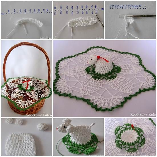 DIY-Crochet-Napkin-and-Lamb-for-Easter-Basket-3 http://wowpics.net/top-diy-idea-pic-18/
