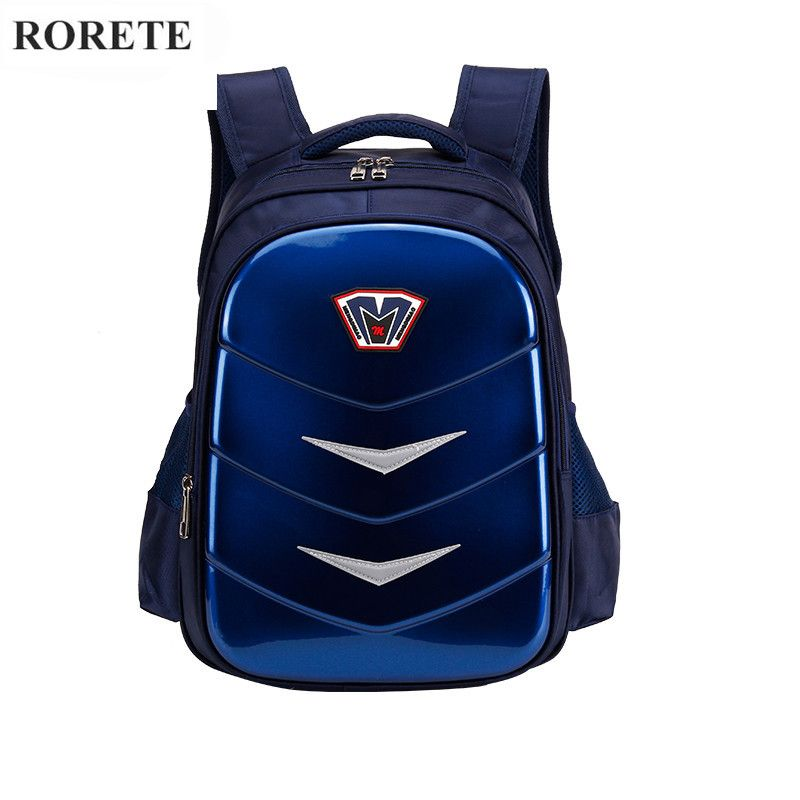 87d223c4c6 High quality Orthopedic Waterproof school bag Oxford Spinal care kids  children school bag Night Reflective school