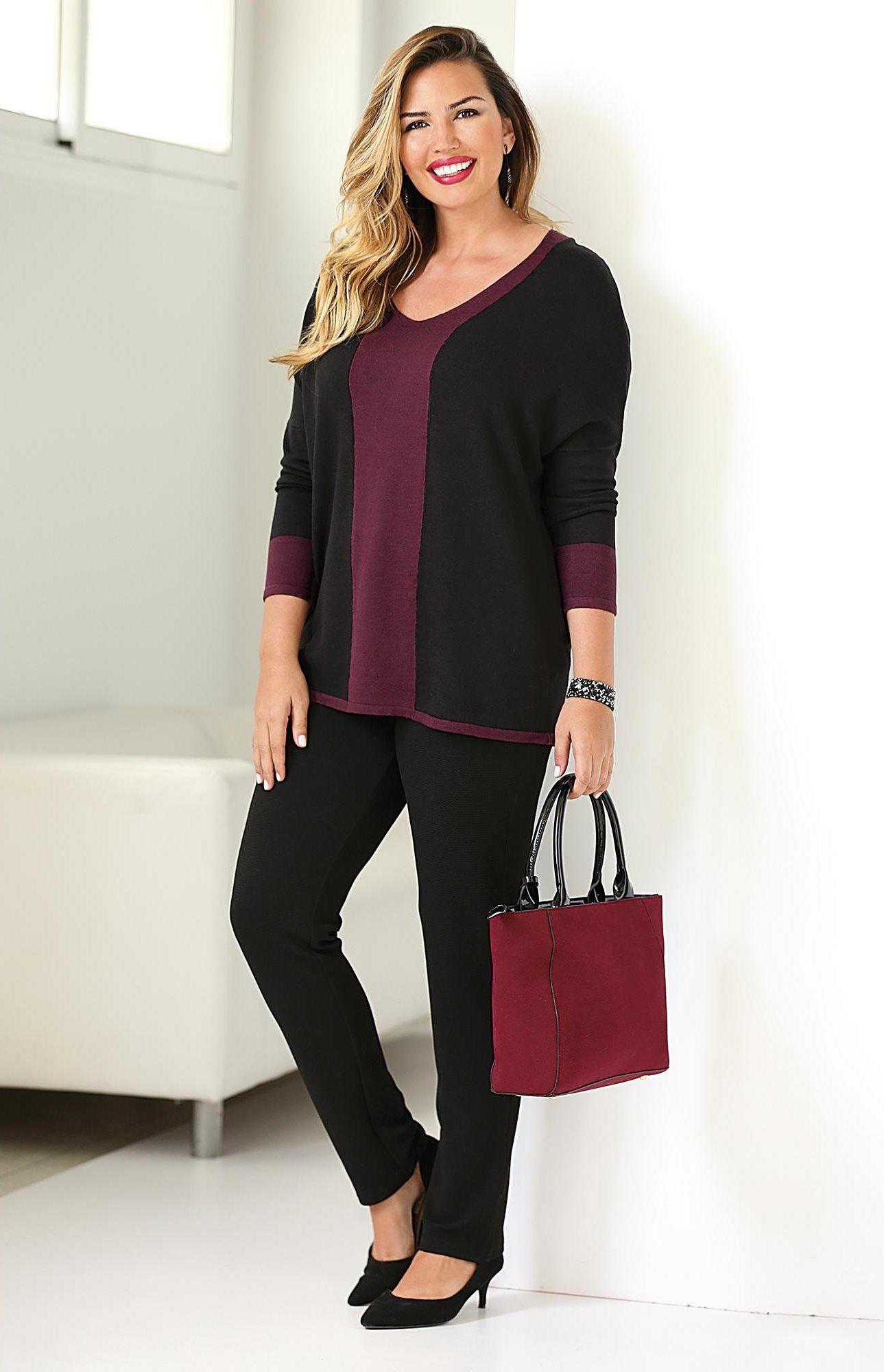 1c227138660 Pantalon taille élastique et cordon poches femme Exclusivité 3SUISSES - Noir
