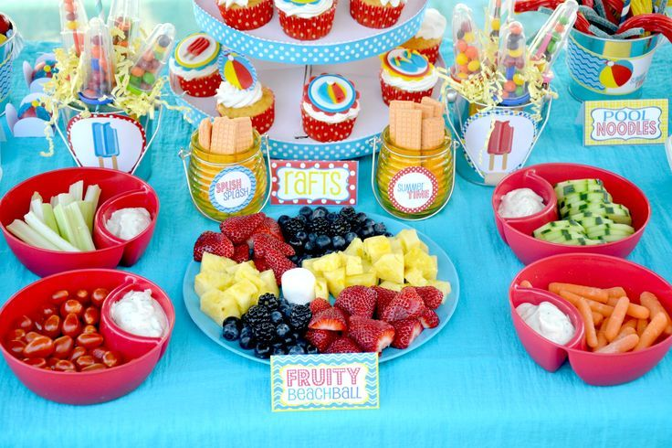Food Beach Party Ideas