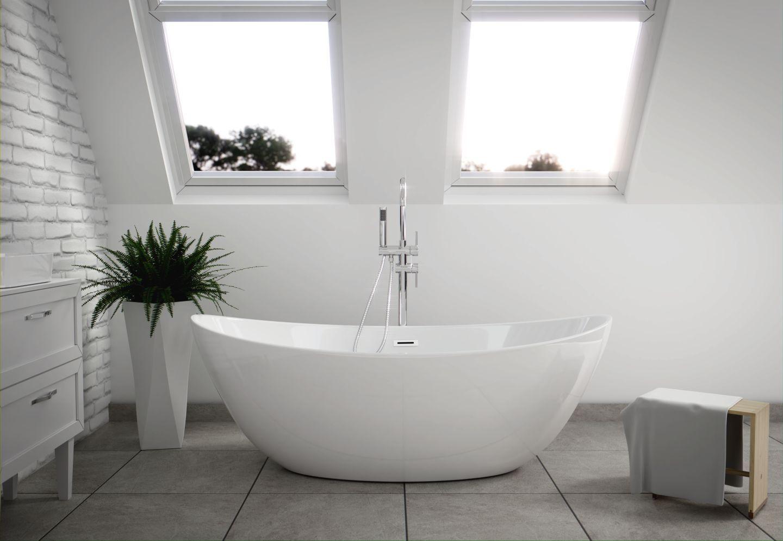 The North Bath Frigg Wanna Wolnostojaca 180x87cm Ergonomiczne Ksztalty Gwarantuja Wygodna Kapiel Wykon Cozy House Bathroom Inspiration Bathroom Remodel Master