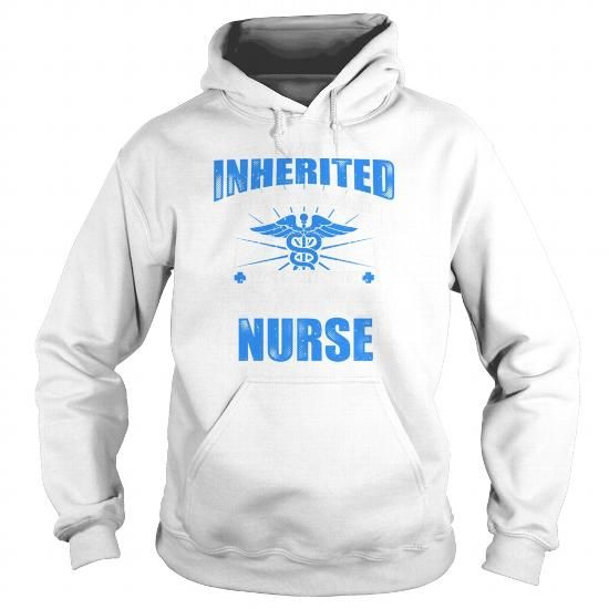 Gift Shirt For Nurse A Title Can't Be Inherited