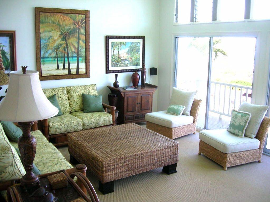 tropical living room interior  tropical living room