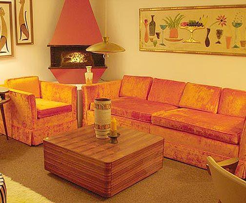 Living Room Retro Room 70s Home Decor Retro Home