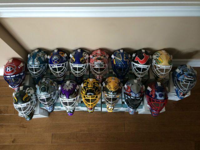 Upper Deck Nhl Mask Collection Goalie Masks Art Collectibles