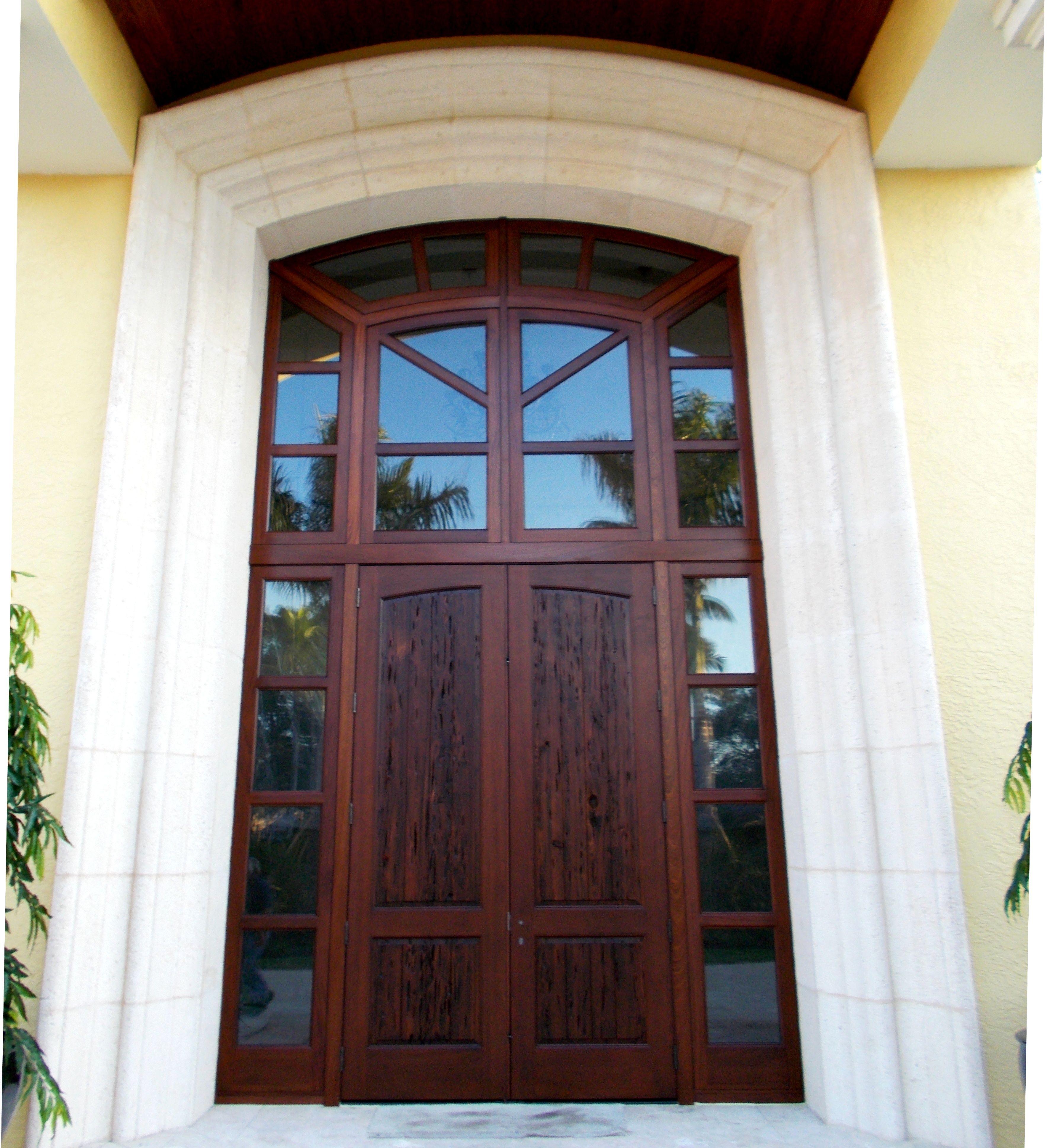 Florida Impact Door Systems, Inc.   Pecky Cypress Hurrincane Impact Door  System. Amazing