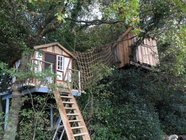 6x Inspirerende Boomhutten : Bijzondere bouwwerken boomhutten pinterest house doors en outdoor