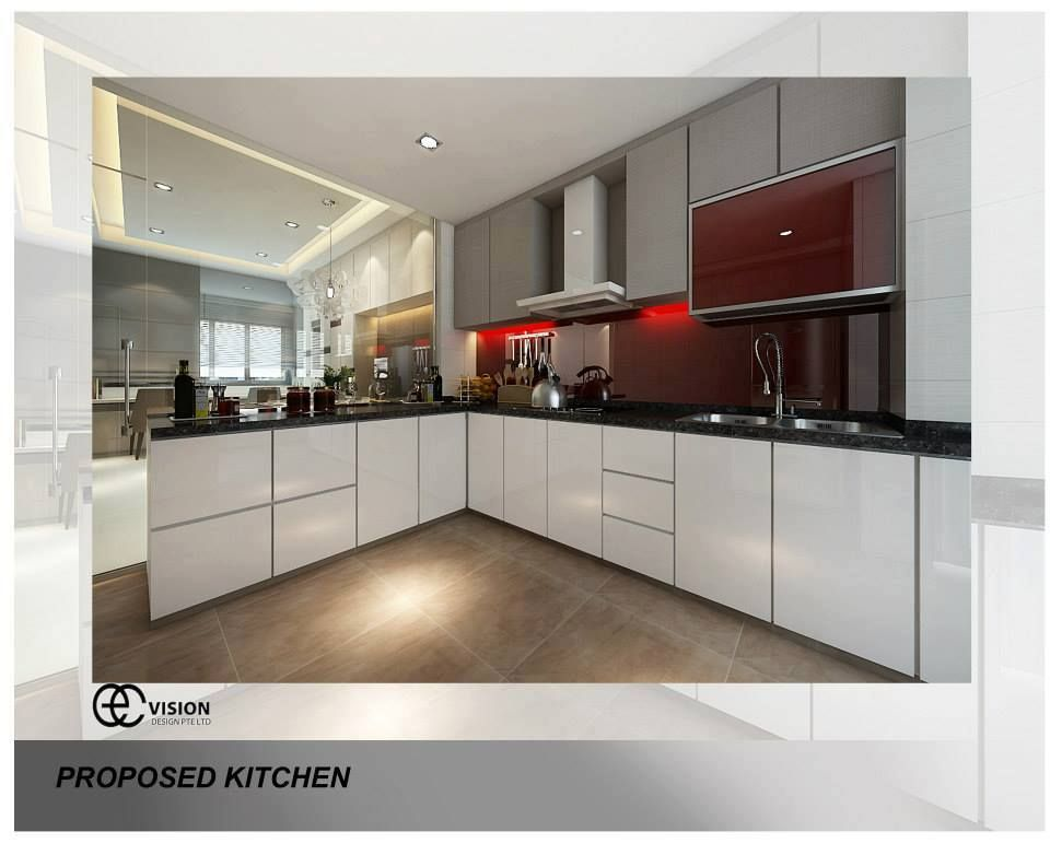 9 Kitchen Design Ideas For Your Hdb Flat From Kitchen Cabinets Hdb Entrancing Kitchen Design For Flats Decorating Inspiration