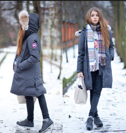 canada goose parka styles