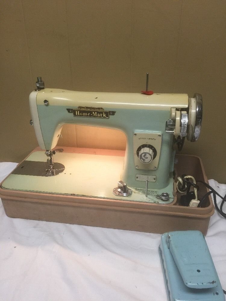Vintage Home Mark De Luxe Sewing Machine Made In Japan Vintage Adorable 1950 Brother Sewing Machine