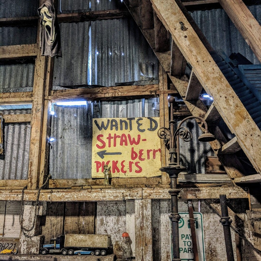 Shortcake in the shop. • • • • • • #relic#oldsign#workshop#friday#oldstuff#beautyindecay#decayt#picoftheday#ig_captures_decay#wallart#walldecor#rusticdecor#architecturalsalvage#americanvintage#vintage#vintagefinds#antique#reclaimed#repurposed#homedecor#salvage#salvagestyle#salvagedinteriorstyling#homestyling#interiordesign#pnw#thegreatnorthwest#exploreoregon#oregon#auroramills