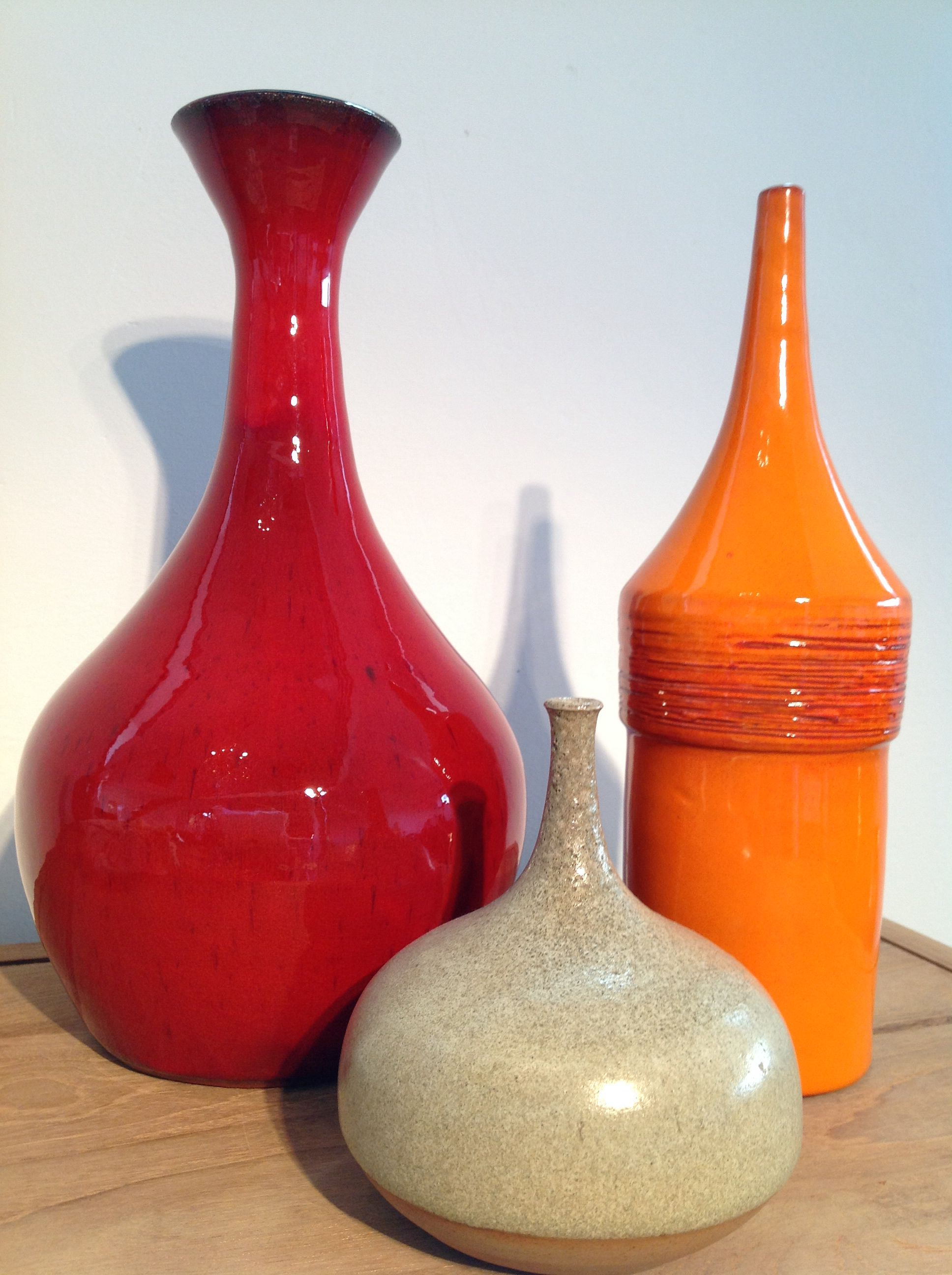 Different Shapes And Colour Vase Shapes Ceramic Pottery Pottery