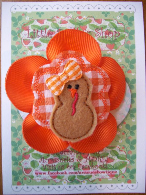 Choice of 1 of 3 Different Thanksgiving Turkey by LittleDollysShop, $4.25