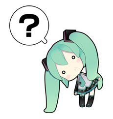 80 Hatsune Miku emoticons free download | Stickers | Hatsune