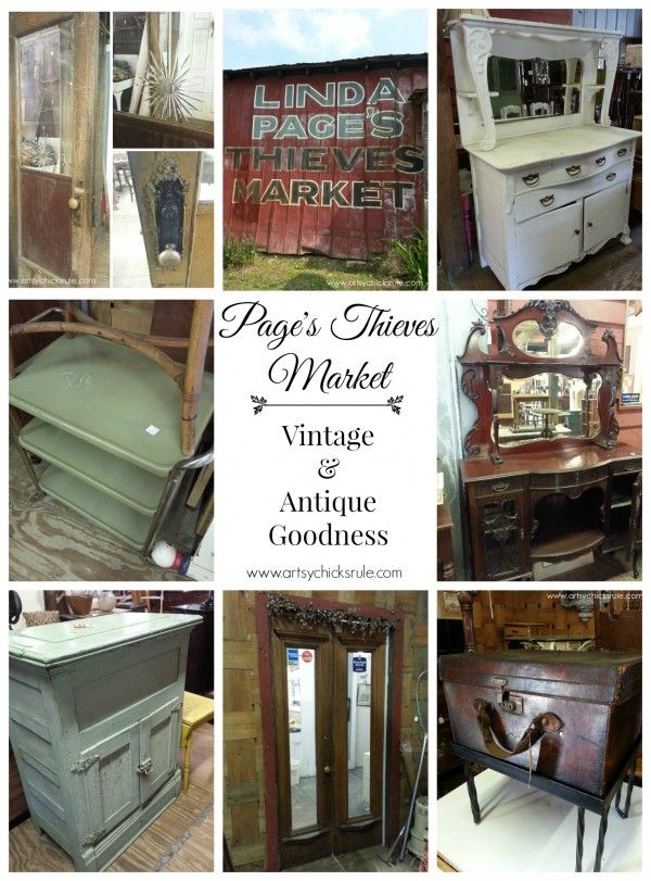 Pages Thieves Market   Mt Pleasant SC   Vintage Antique Goodness   #vintage  #antique Artsychicksrule.com