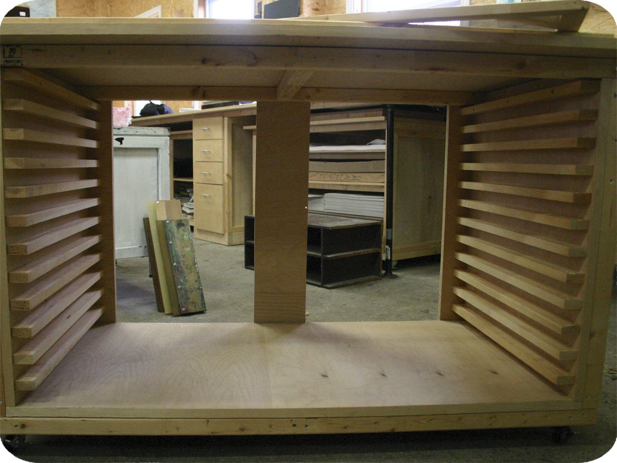 Homemade Screen Drying Cabinet Plans ~ Diy drying rack projects pinterest studio box