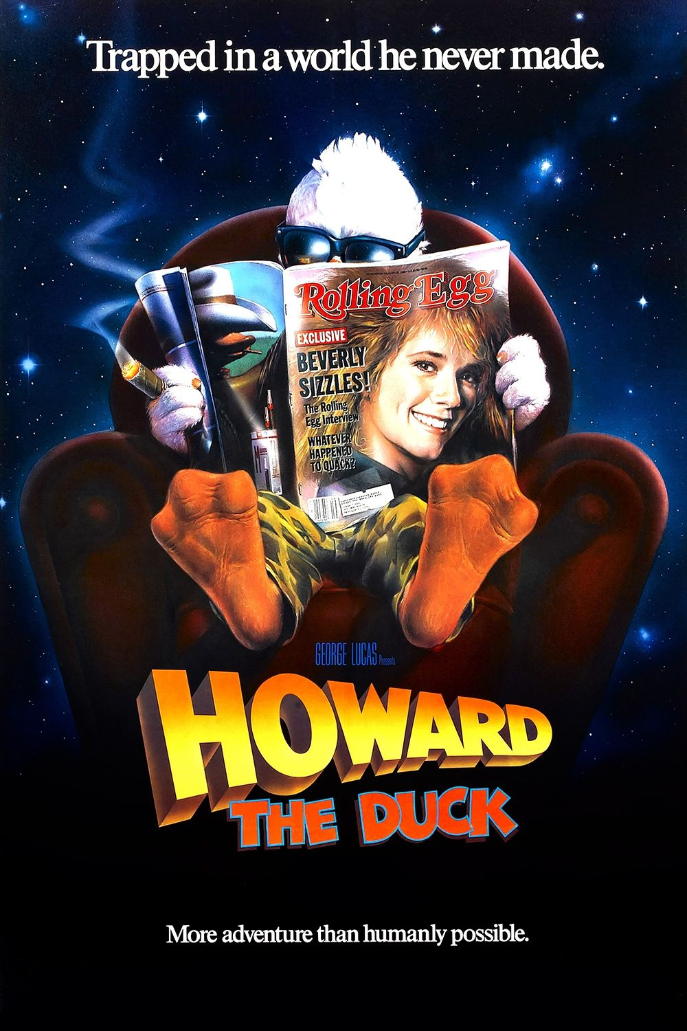 Howard The Duck 1986 Yes I Am A Proud Owner Of This Movie Worst Movies 80s Movies Howard The Duck