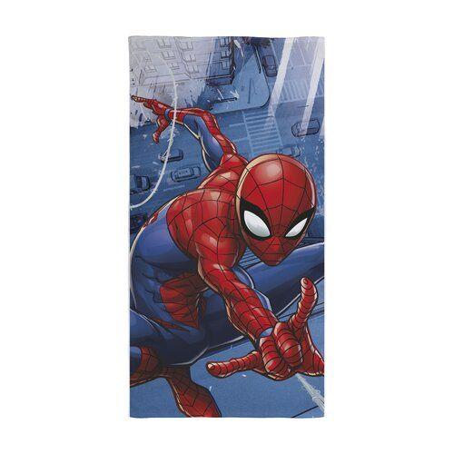 Collis Bath Towel Zoomie Kids Superhero Gifts Blue Towels