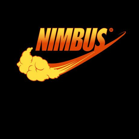 Dragon Ball  Flying Nimbus    Nike  Logo mashup t-shirt. a1322cfa0331