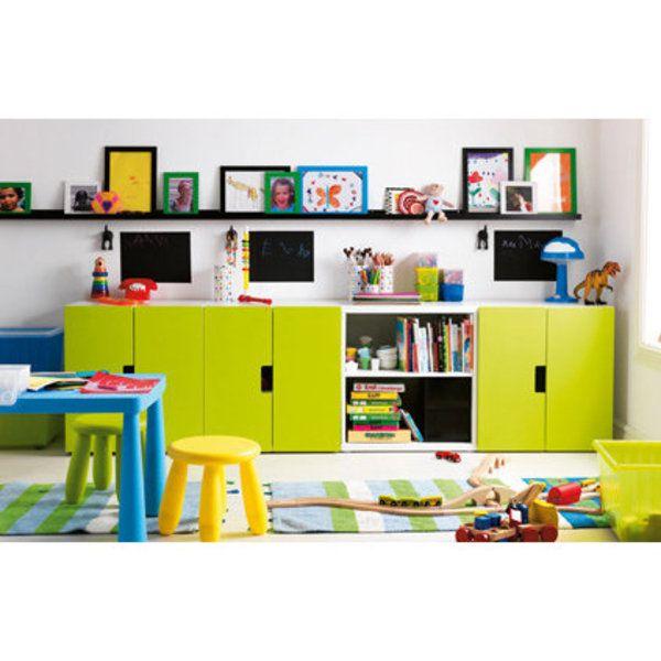 Une chambre d'enfant bien rangée | Idée chambre enfant, Chambre enfant et Rangement chambre enfant