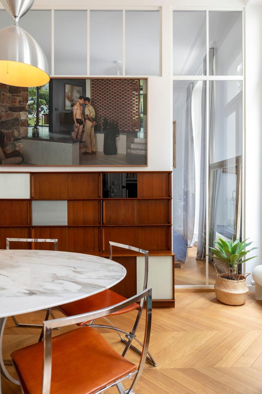Appartement Familial Paris 10 Agrandi De 38 M2 Pour Les Enfants En 2020 Appartement Loft Appartement Meuble