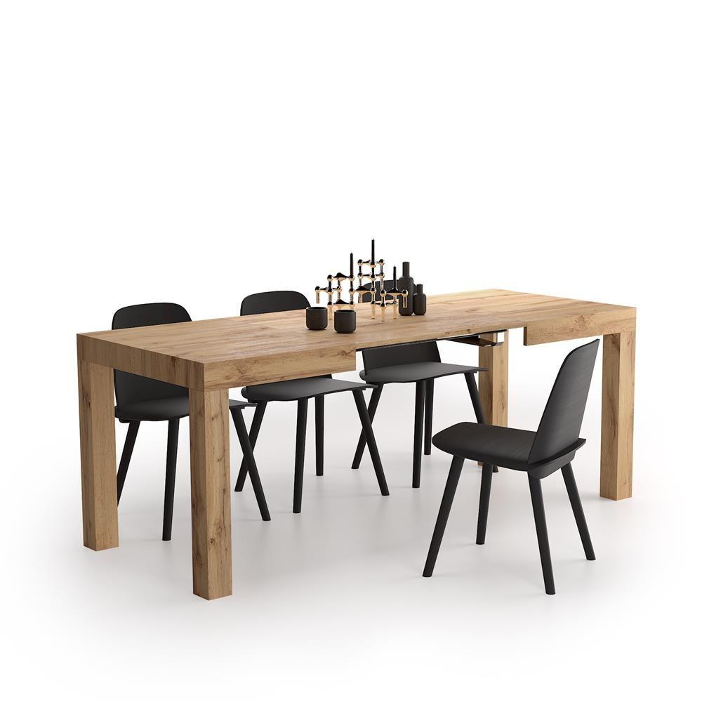 Tavolo Allungabile First Rovere Rustico Mobili Fiver Table A