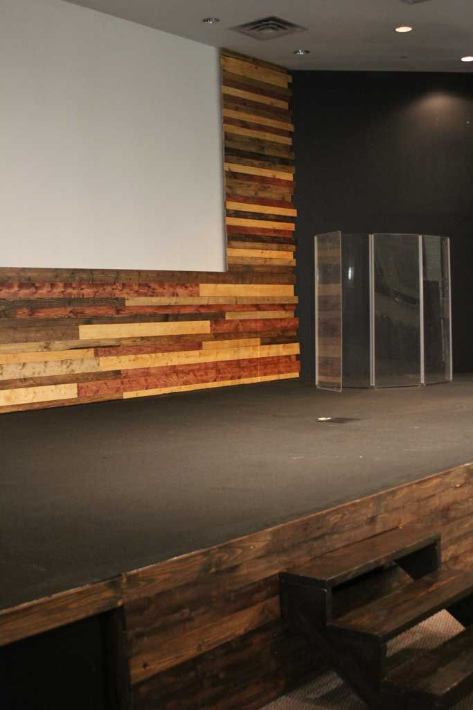 Church Youth Room Ideas Stage: Build A Wood Stage