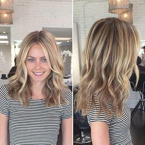 14. Idea di colore dei capelli per le bionde