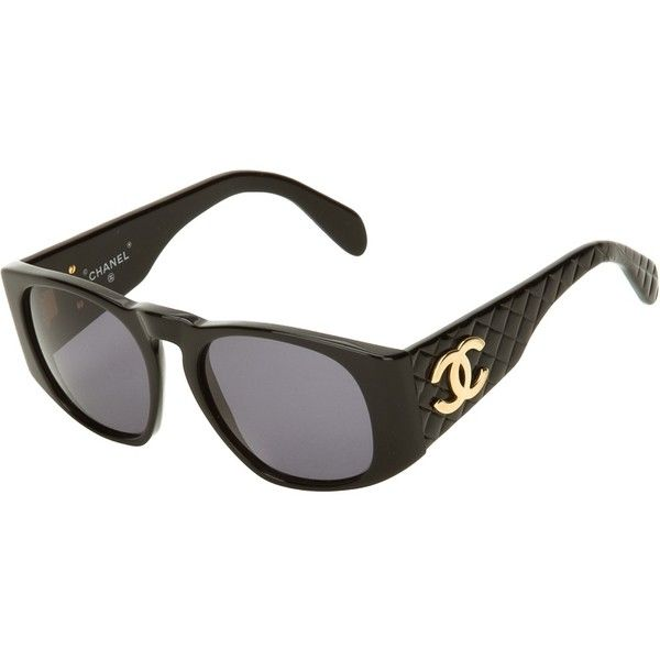 Chanel Vintage Quilted Sunglasses Accessories Pinterest Chanel