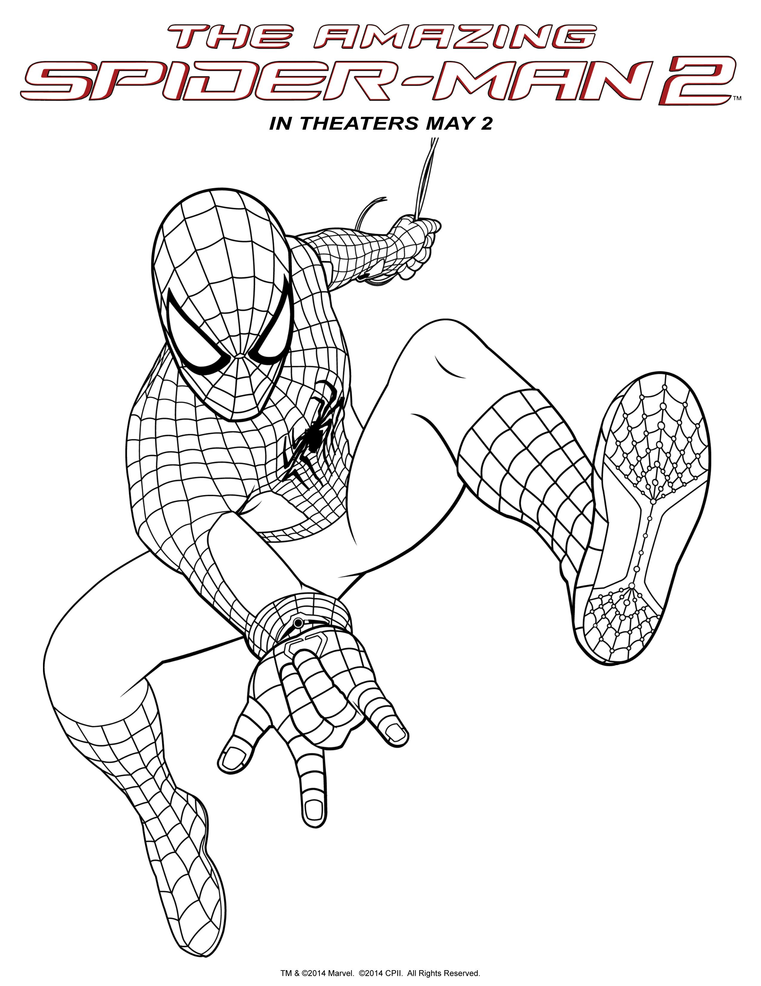 Spider-Man 24  Spiderman coloring, Spider coloring page, Avengers