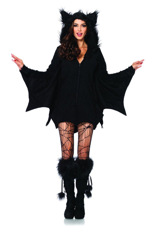 Leg Avenue 85311 - Cozy Bat Kostüm, Größe XL, schwarz: Amazon.de: Spielzeug