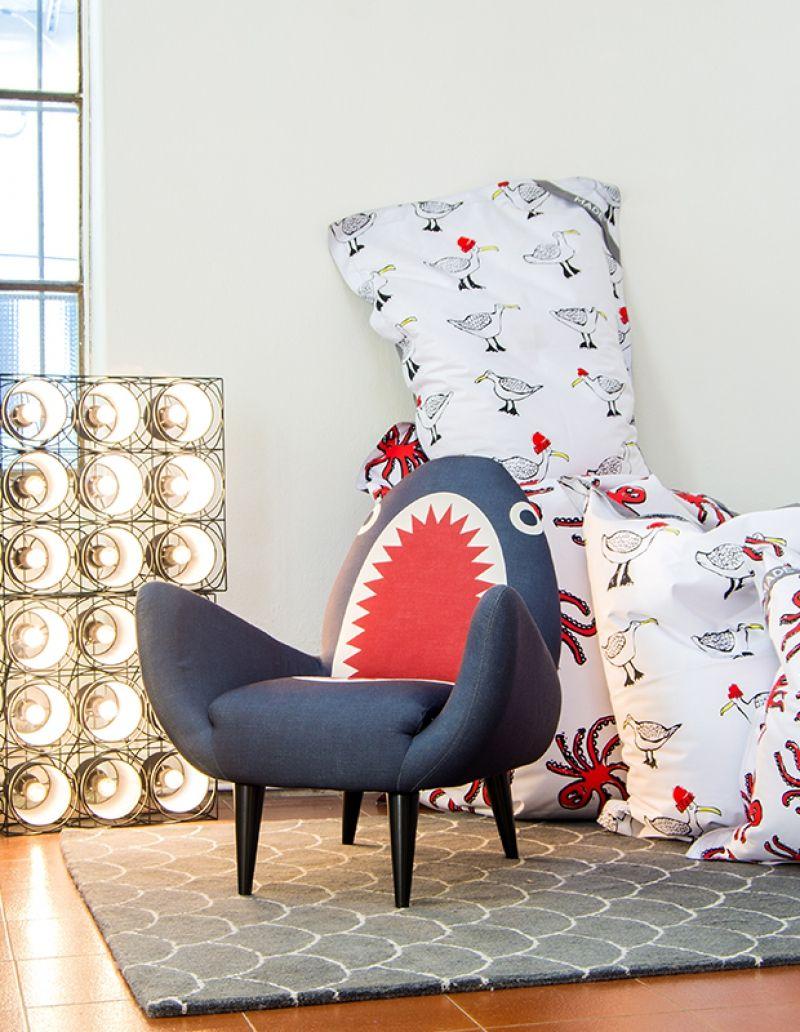 Rodnik Shark Fin Chair in 2020 Shark room, Boy toddler