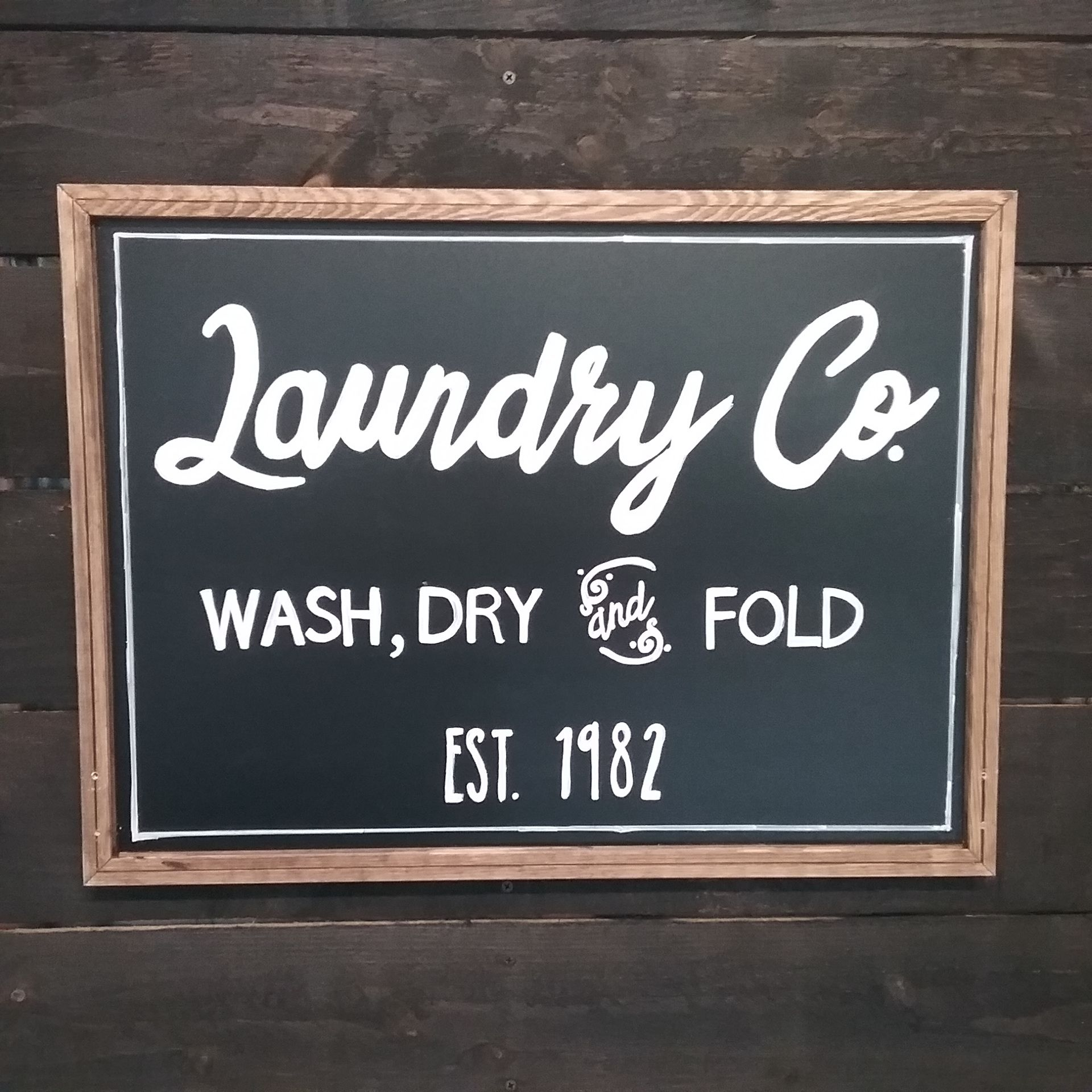 Farmhouse Diy Laundry Sign Hobby Lobby Chalkboard Chalk Pens
