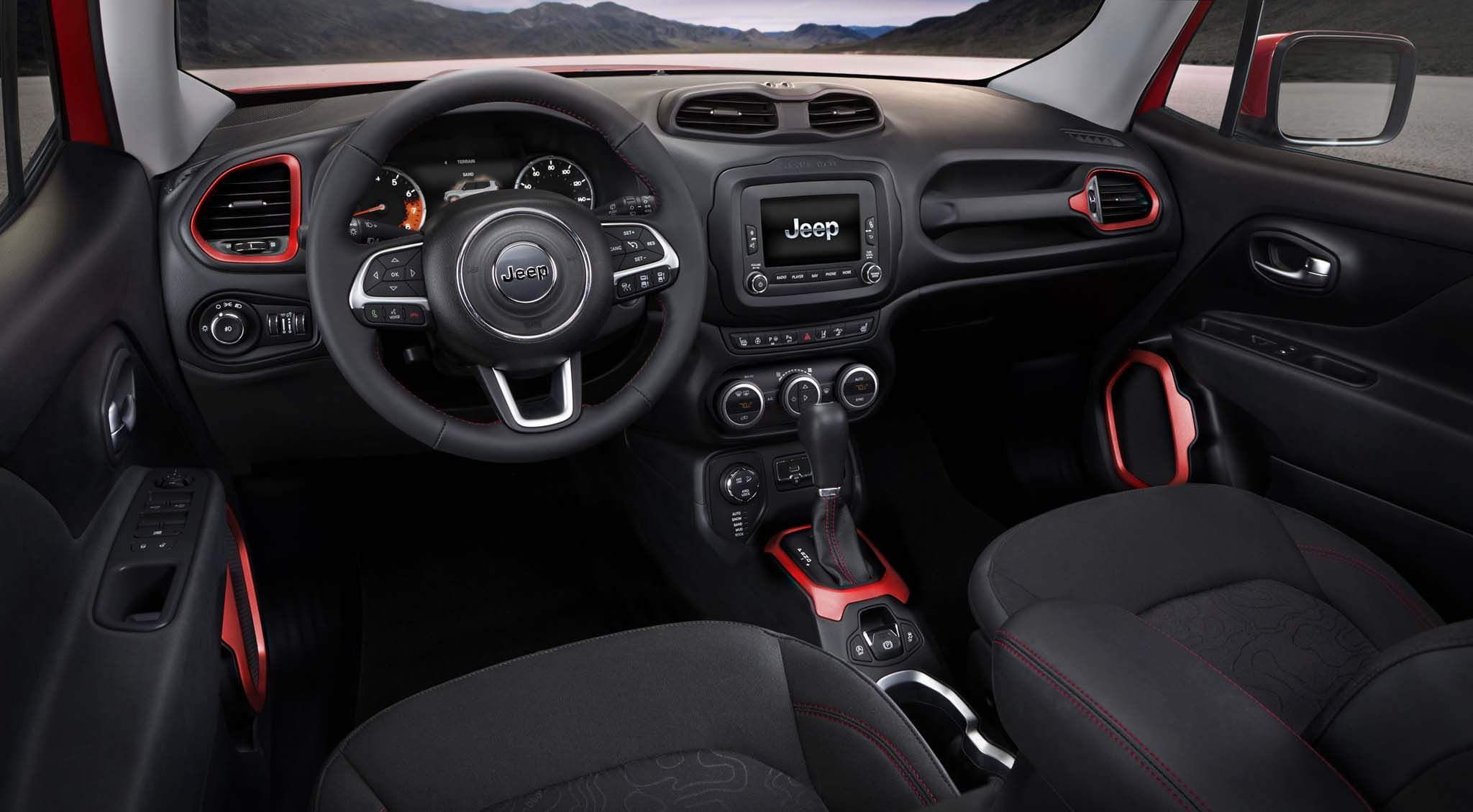Jeep Renegade Trailhawk Interior Hd Wallpaper Check more at
