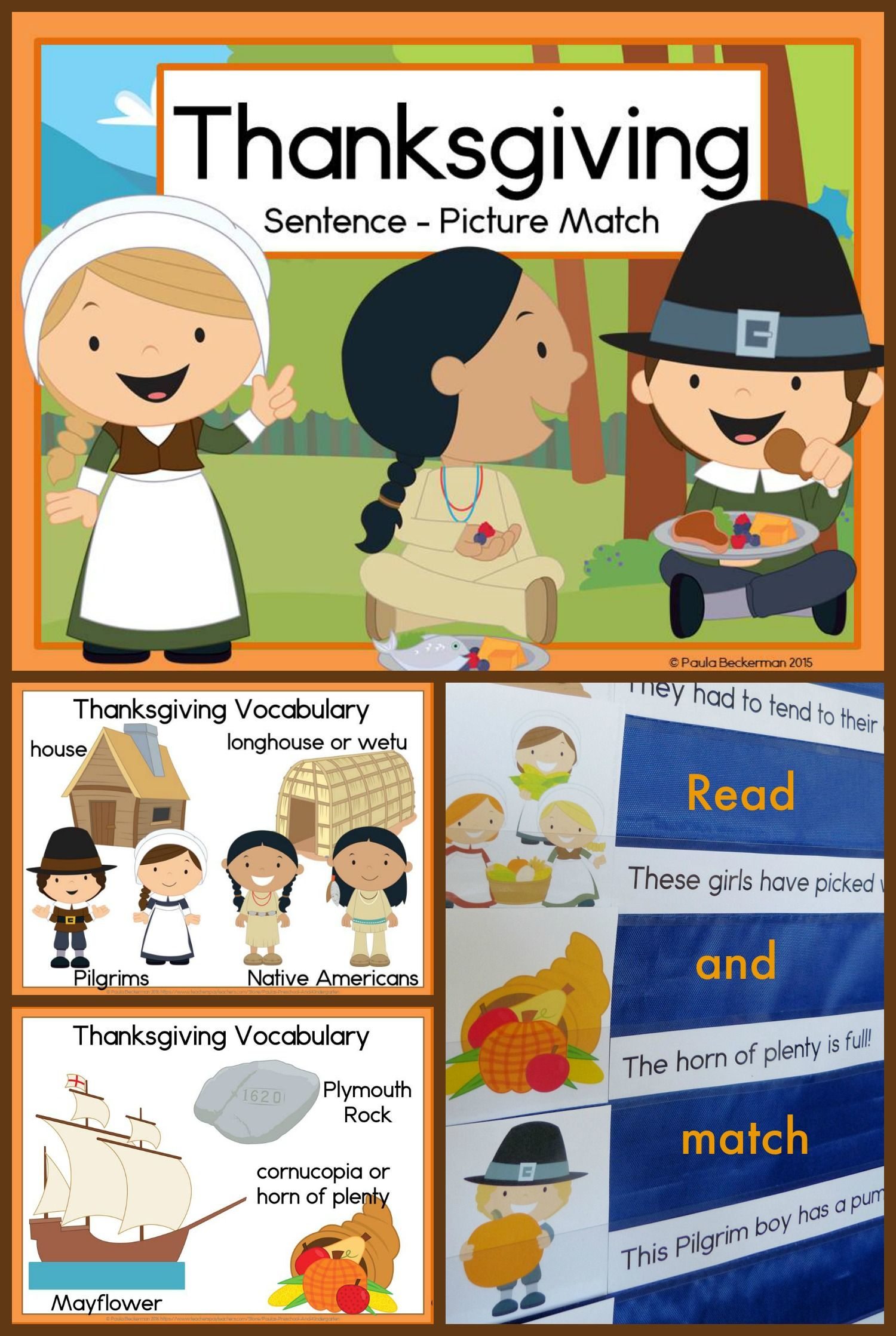 Fun Thanksgiving Reading And Writing Activities