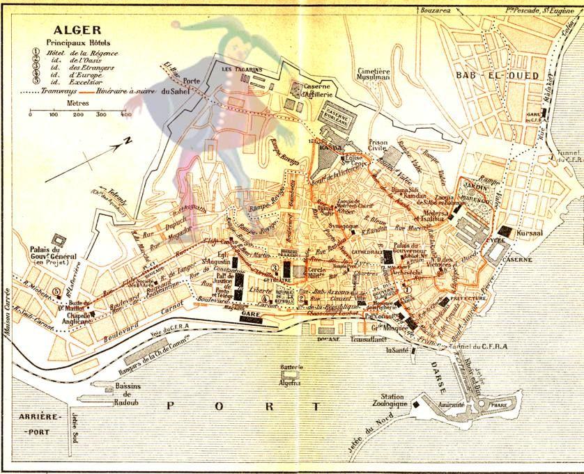 Alger, plan de 1905