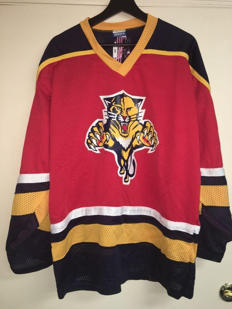 buy popular 67967 64976 Jericho NHL Florida Panthers Jersey | eBay | 80s 90s vintage ...